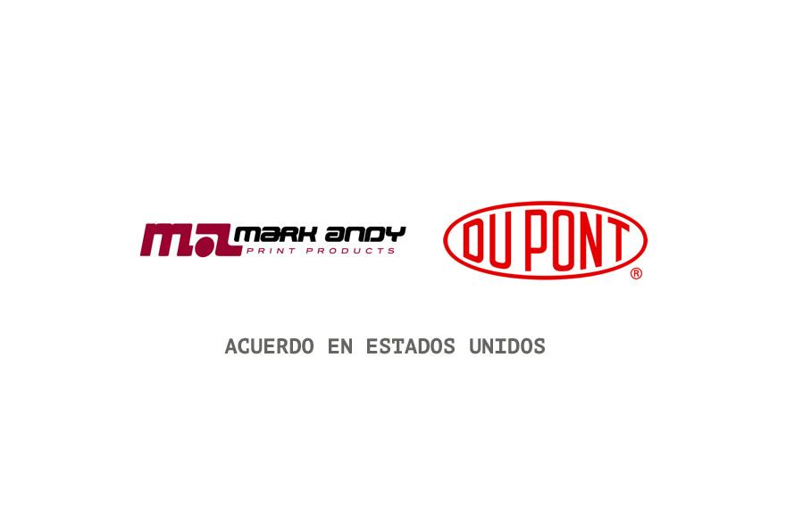 Mark Andy es nombrado distribuidor exclusivo en Estados Unidos de los productos DuPont ™ Cyrel®