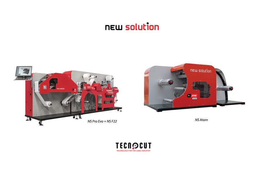 Tecnocut lanza en España una solución de fabricación de etiquetas para tiradas cortas de la mano de New Solution