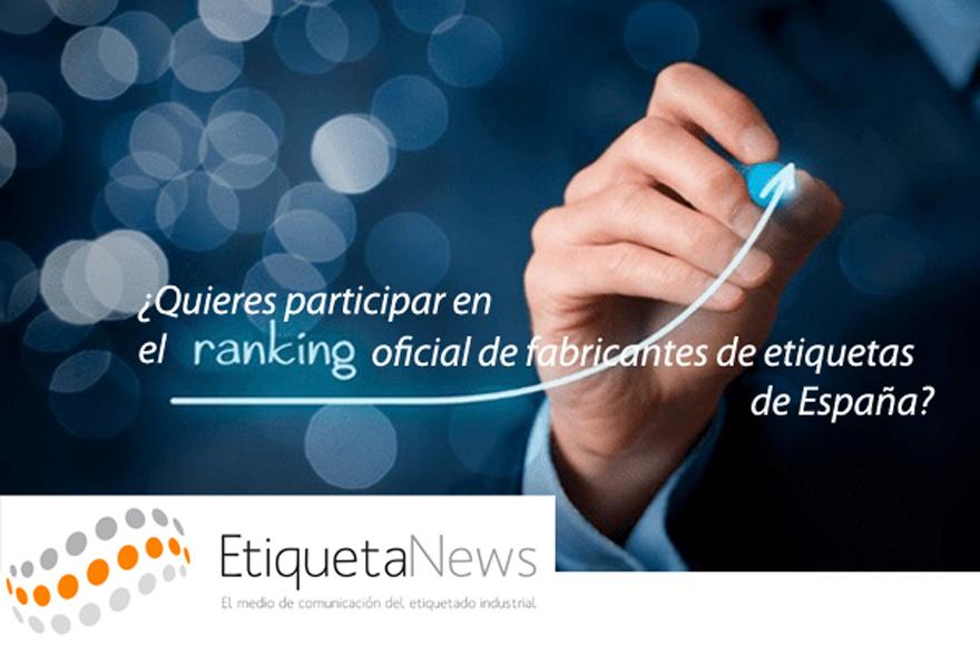 EtiquetaNews prepara un Ranking Oficial de los Fabricantes de Etiquetas de España